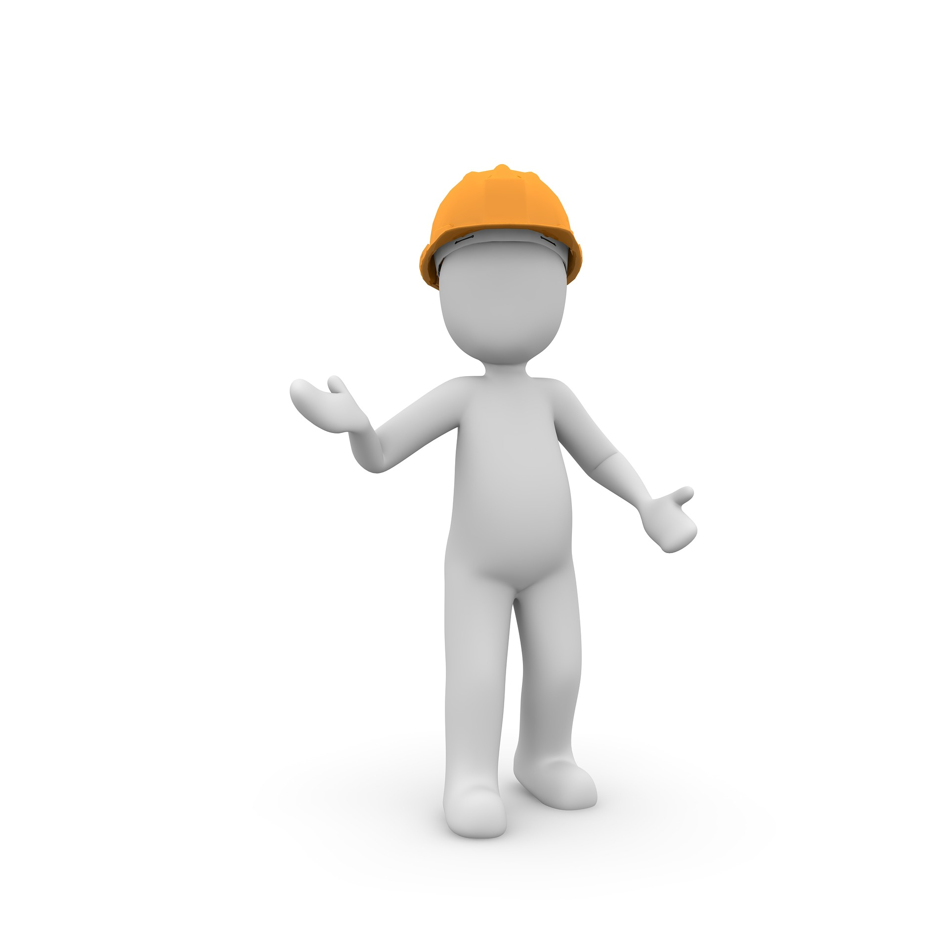Animated construction-worker